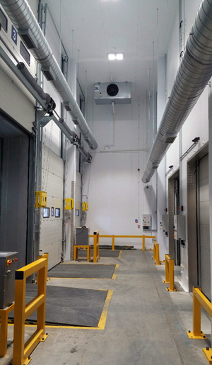 ISD builds new coldstore for K&N Greenford to handle -25 degree C temperatures