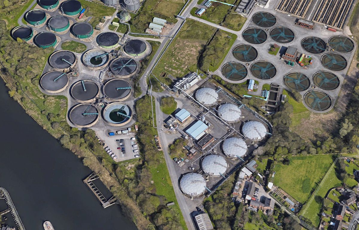 Davyhulme Water Treatment Works