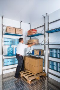 ISD Cold Storage shelving units